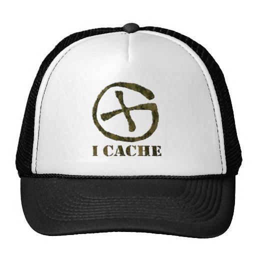 I CACHE trucker hat