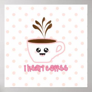 ¡I café del corazón! Poster