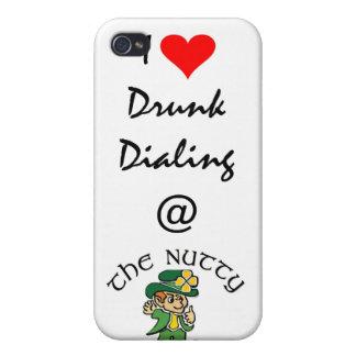 I caja de marca bebida corazón del iPhone 4 iPhone 4 Protector