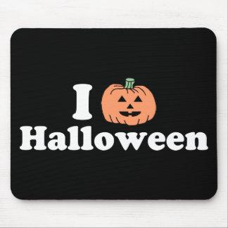 I calabaza Halloween Alfombrillas De Ratón