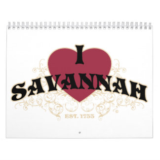 I calendario del Est 1733 de la sabana del corazón
