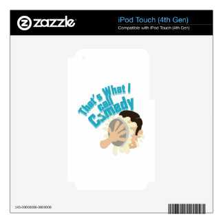 I Call Comedy Decals For iPod Touch 4G