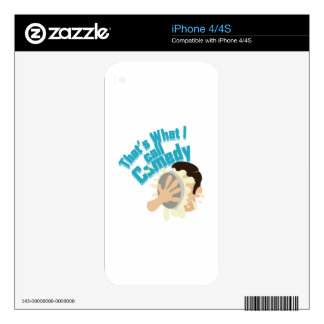 I Call Comedy Decals For The iPhone 4S