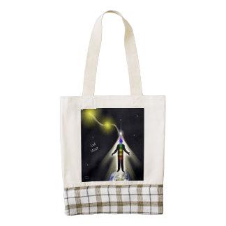 I Call Light 2 Zazzle HEART Tote Bag
