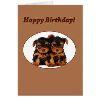 I call this Puppy Love Greeting Card