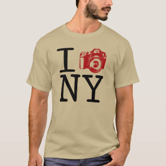 I Cam New York /  I Shoot NY Photography T-Shirt