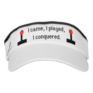 I Came I Played Visor