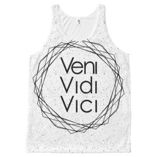 "I Came, I Saw, I Conquered ""Veni, Vidi, Vici"" All-Over-Print Tank Top"