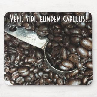 I Came, I Saw, I Drank Coffee Mouse Pad