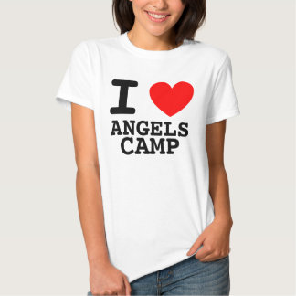 I camisa de campo de los ángeles del corazón