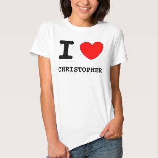 I camisa de Christopher del corazón