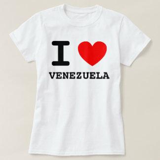 I camisa de Venezuela del corazón