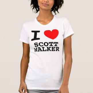 I camisa del caminante de Scott del corazón