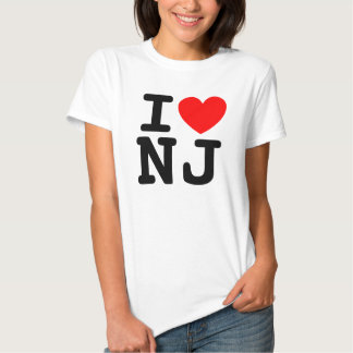 I camisa del corazón NJ