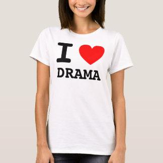 I camisa del drama del corazón