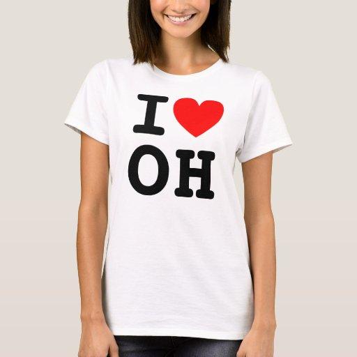 I camisa del OH del corazón