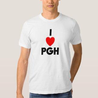 I camiseta cabida PGH del corazón Playera