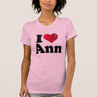I camiseta de Ana Romney del corazón Camisas