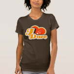 I camiseta de Dave del corazón