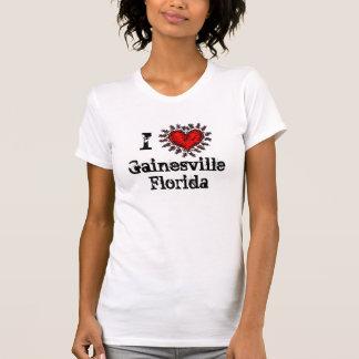 I camiseta de Gainesville la Florida del corazón