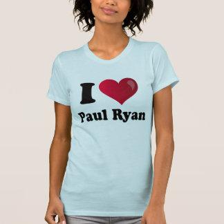 I camiseta de la luz de Paul Ryan del corazón Playera