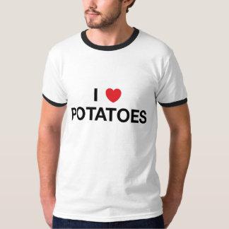 I camiseta de las PATATAS del CORAZÓN Playera