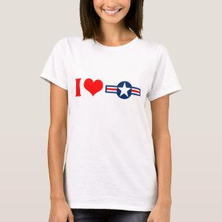 I camiseta de las señoras de Luv los E.E.U.U.
