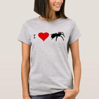 I camiseta de los Tarantulas del corazón (acero