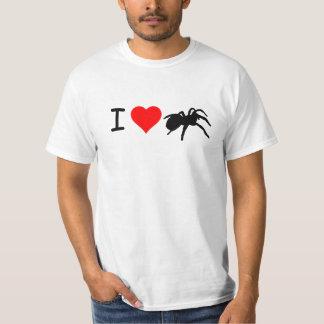 I camiseta de los Tarantulas del corazón (blanca) Camisas