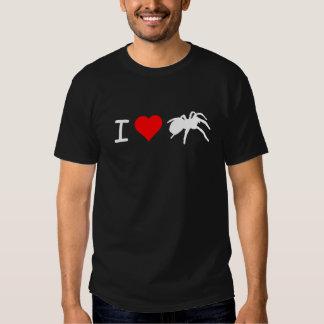 I camiseta de los Tarantulas del corazón (negro) Camisas