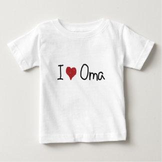 I camiseta de Oma del corazón