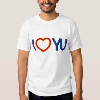 I camiseta de YU del corazón Remera
