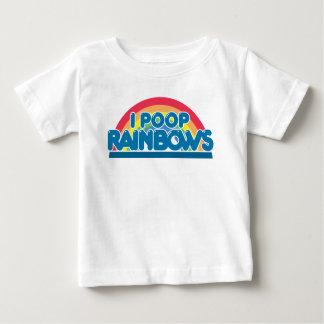 I camiseta del bebé de los arco iris del impulso playera