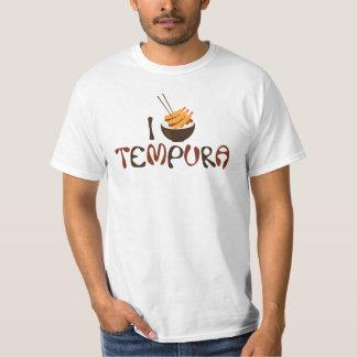 I camiseta del gráfico del Tempura Poleras