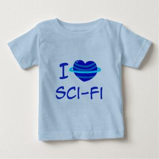 I camiseta del niño de la ciencia ficción del polera