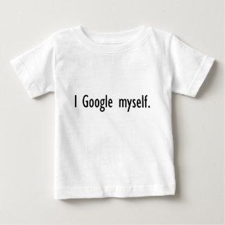 I camiseta infantil de Google mismo Poleras