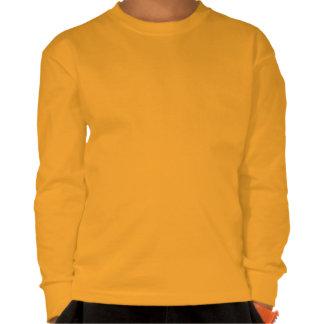 I camiseta larga de la manga de los niños del