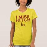 I camisetas de Srta. Hitch (oscuro en luz) Playeras