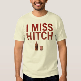I camisetas de Srta. Hitch (oscuro en luz) Remeras