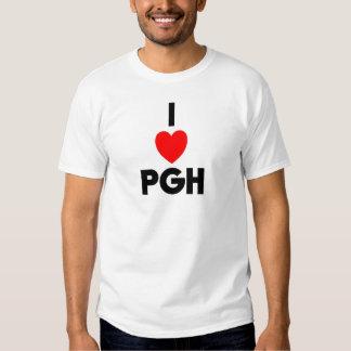 I camisetas sin mangas del corazón PGH