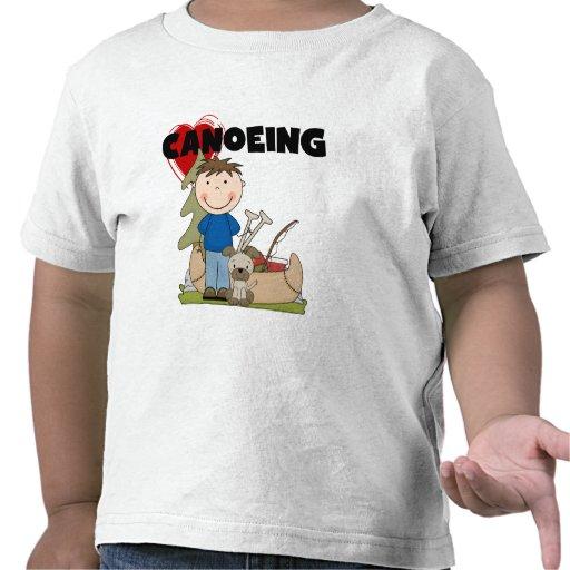 I camisetas y regalos Canoeing del muchacho del co