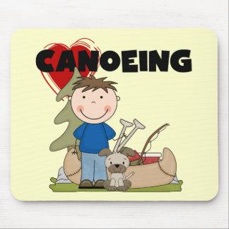 I camisetas y regalos Canoeing del muchacho del Alfombrilla De Ratón