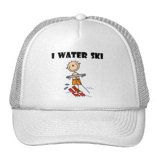 I camisetas y regalos del esquí acuático gorras de camionero