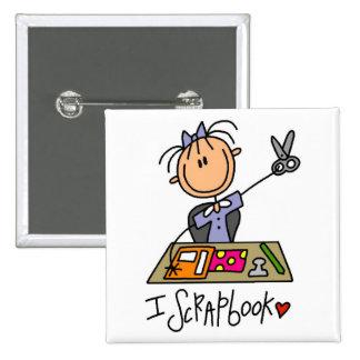 I camisetas y regalos del libro de recuerdos pin