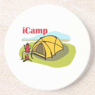 I CAMP BEVERAGE COASTER