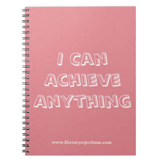I Can Achieve Anything Notebook