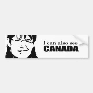 I can also see Canada Car Bumper Sticker
