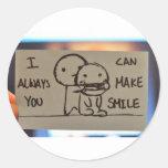 I can always make you smile adesivos