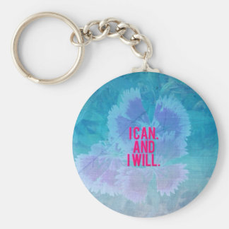 I can and I will! Basic Round Button Keychain