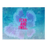 I can and I will! Postcard